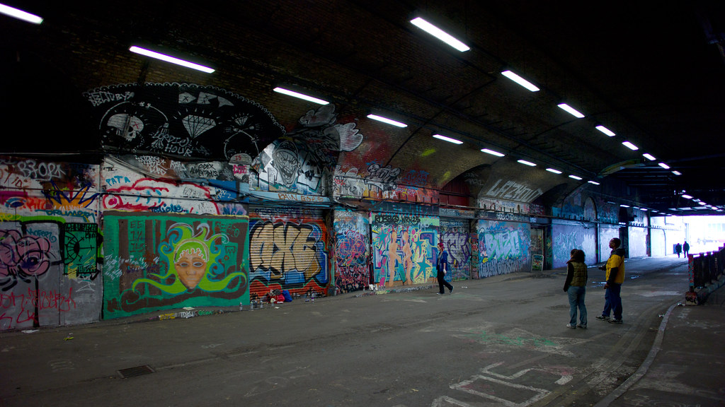 Leake Street Banksy Tunnel  26 March 2011 Near Waterloo   Flickr