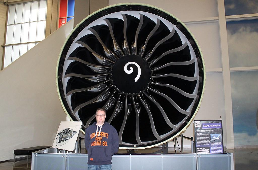 GE90115B Turbofan Engine  The GE90 is the worlds