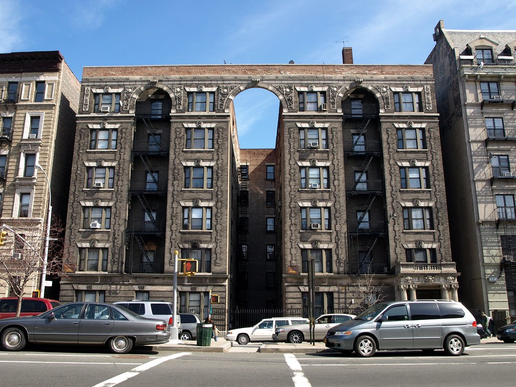 Classic Beaux Arts Style Apartment Building Sugar Hill N