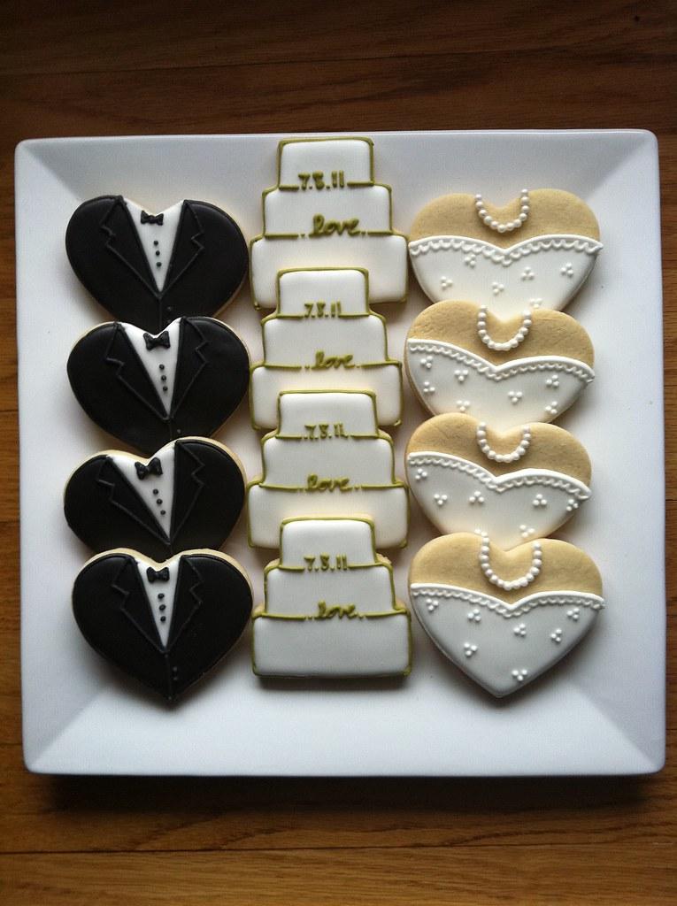 Love Wedding Cookies  Elizabeth  Flickr