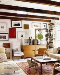 Nan Whitney {rustic vintage modern living room} | Rustic ...