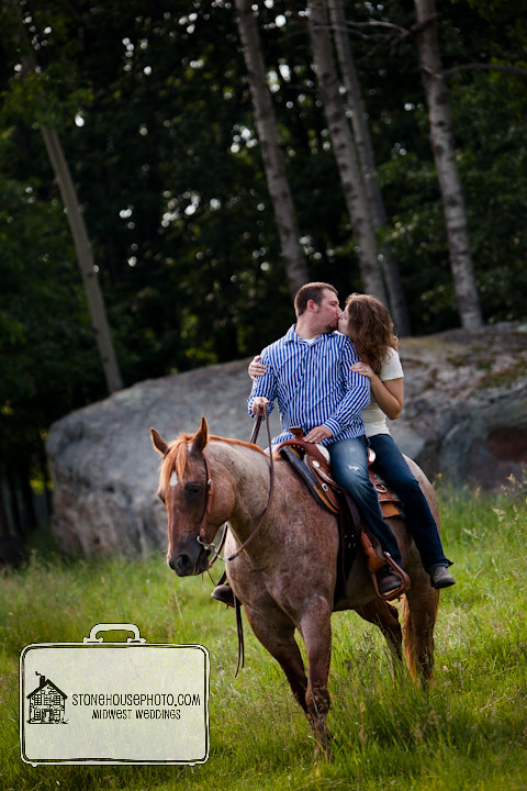 Engagement on horses  Hannah Hudson  Flickr