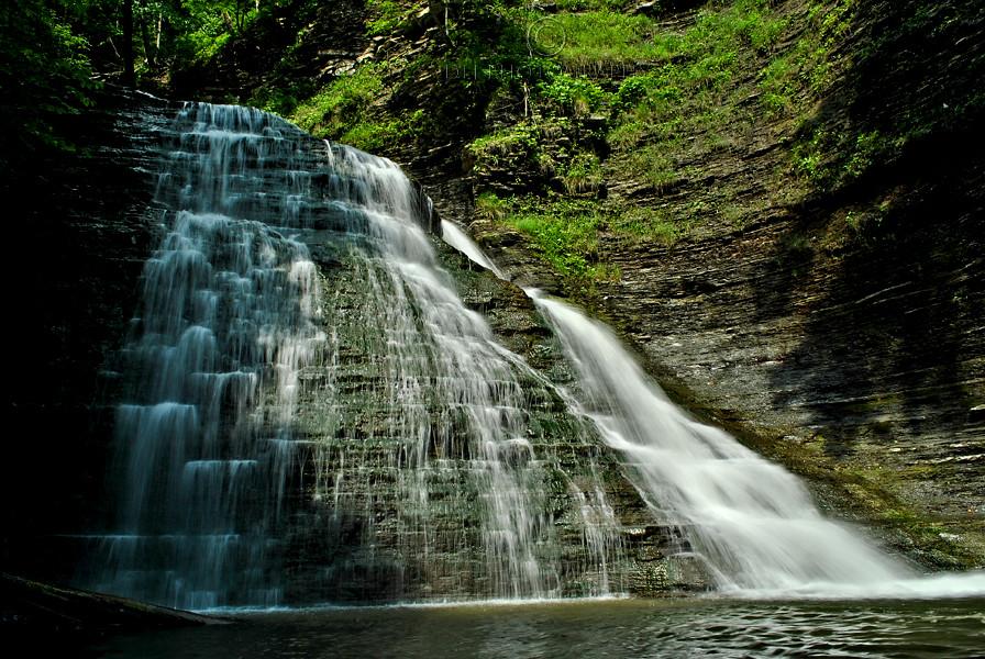 Grimes Glen Naples NY  The upper falls in Grimes Glen Des  Flickr