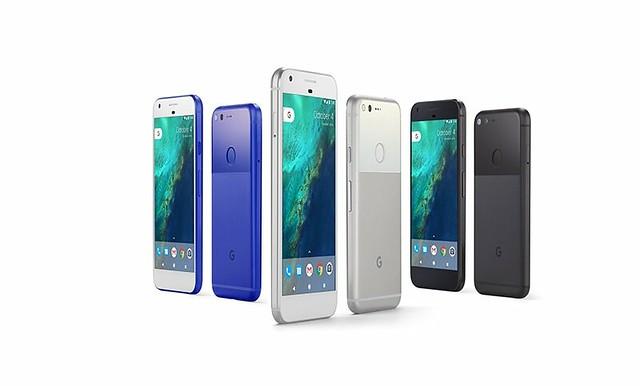 Los colores del pixel Azul en exclusiva para los EEUU, Muy plata y Muy Negro