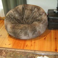 Restoration Hardware Beanbag Chair Nursing Glider Or Rocking Giant Furry Bean Bag From Flickr