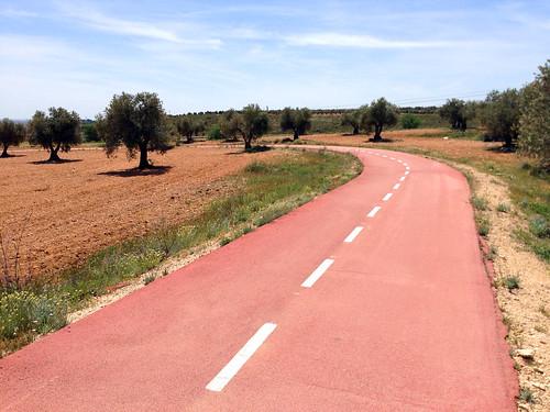 Vía verde hacia Morata