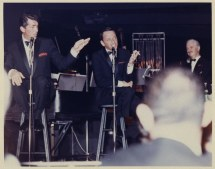Dean Martin And Frank Sinatra Sands Hotel