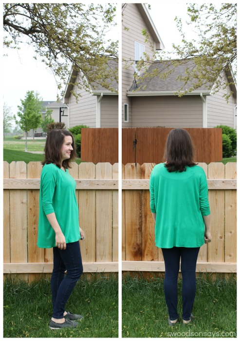 Green grainline hemlock