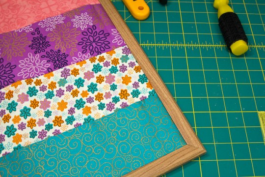 Easy Fabric Pocket Board
