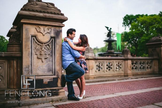 Manisha & Ali   Central Park Brooklyn Bridge   New York City Indian Wedding Photography
