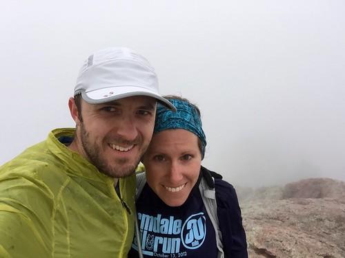 Melissa's first Horsetooth summit