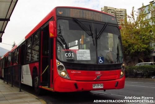 Transantiago - Redbus Urbano - Neobus Mega LE / Volvo (CPFP30)