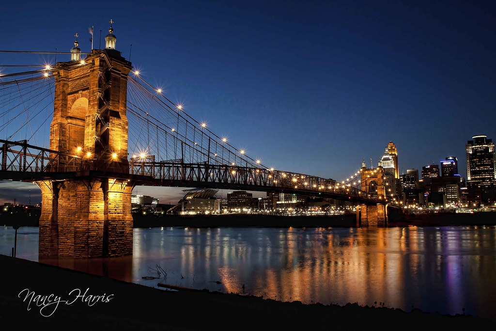 John A Roebling Suspension Bridge  ExploreInterestingnes  Flickr