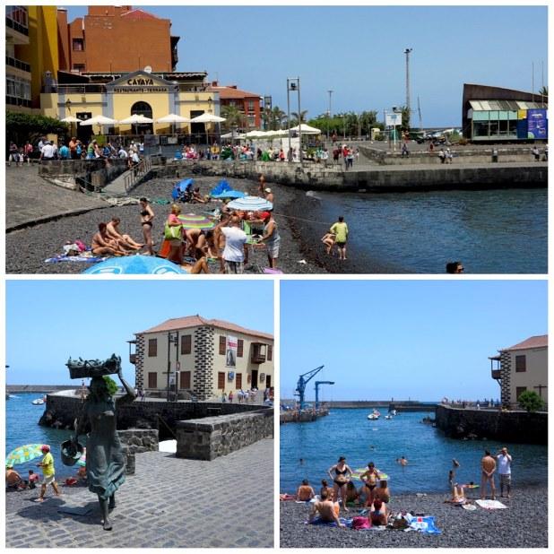 Muelle pesquero Puerto de la Cruz