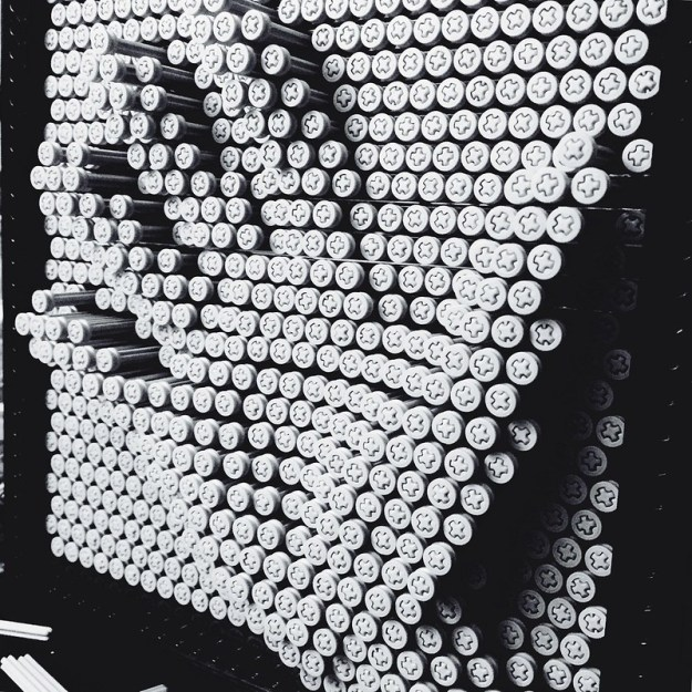 Lego Pin Art Handprint