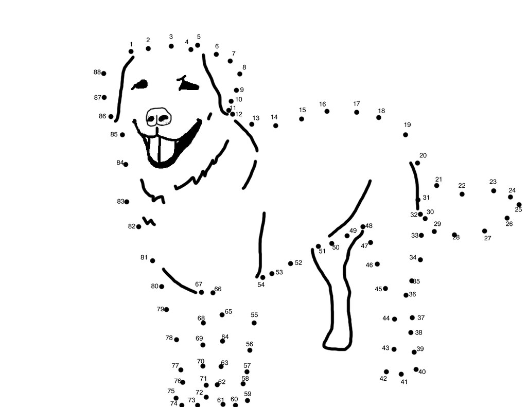Dot To Dot Dog