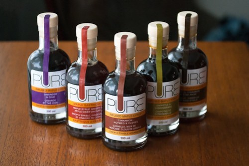PURE Infused Maple Syrups