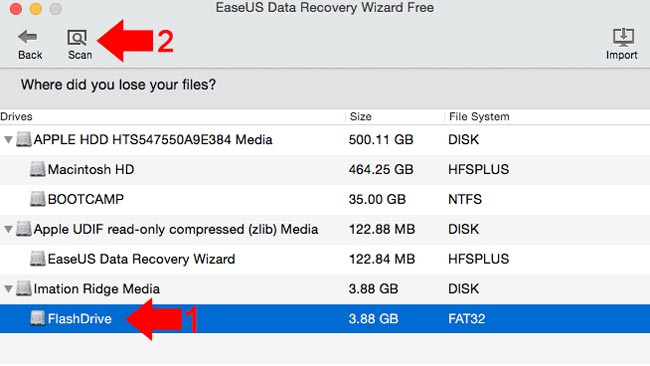 How to recover deleted files on Mac step 4