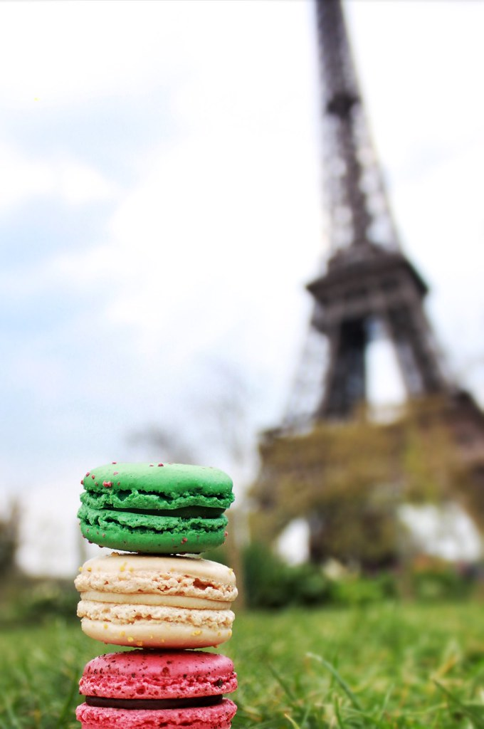 Eiffel Tower of Macarons  Scott and Michele Gabree  Flickr