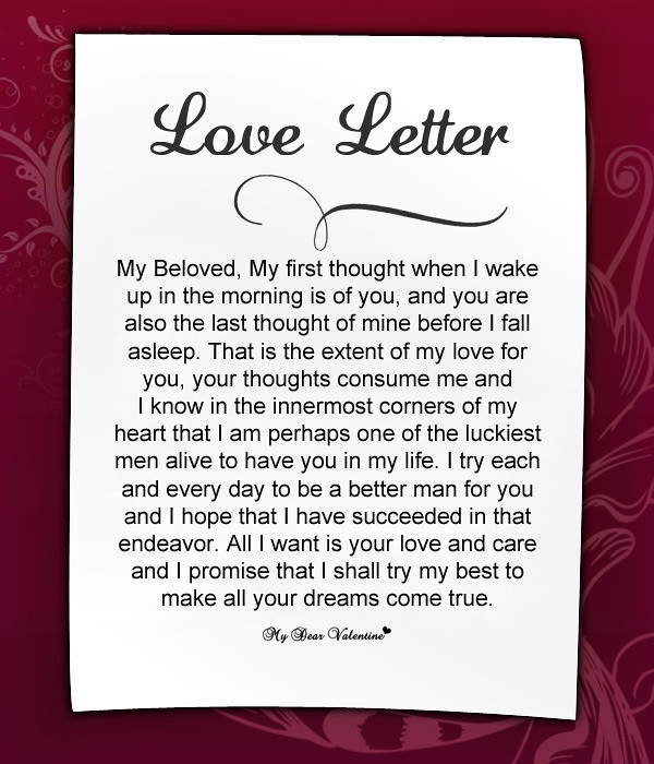 Amazing Love Letters For Her Amazing Love Letters For