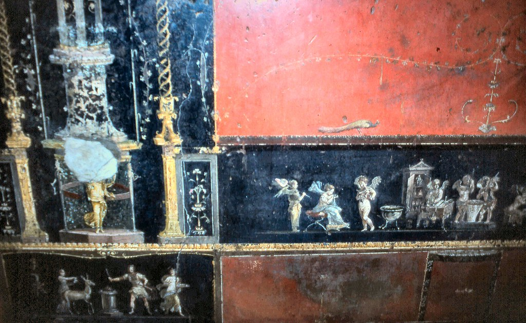 Pompeii House of the Vettii Very high quality wall decor