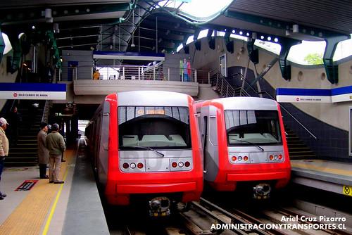Metro de Santiago - Alstom AS2002 - Quilín
