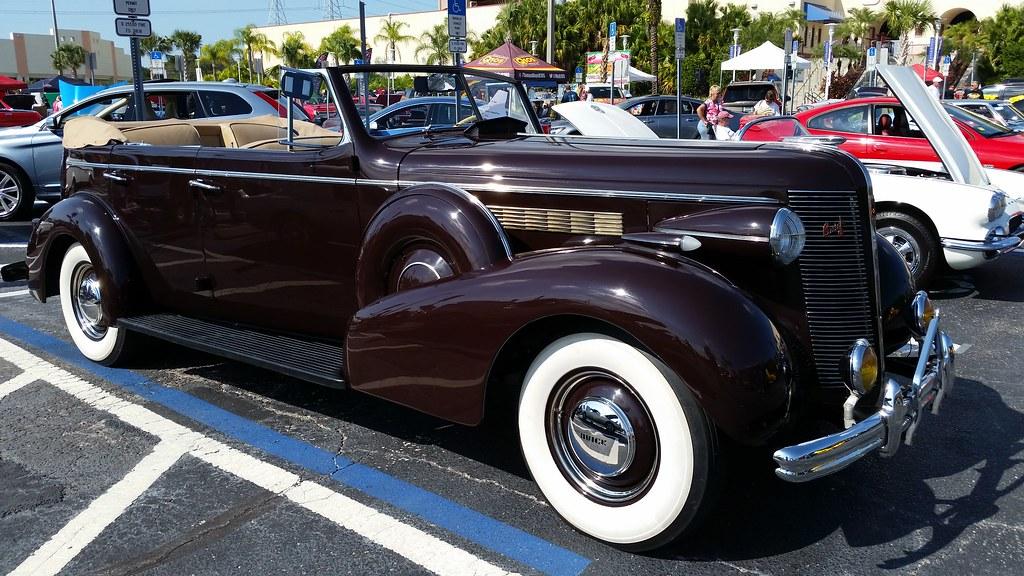 1937 Buick Roadmaster Phaeton Convertible Mason Dixons Ch Flickr