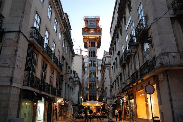 Elevador de Santa Justa | The Streets of Lisbon | No Apathy Allowed