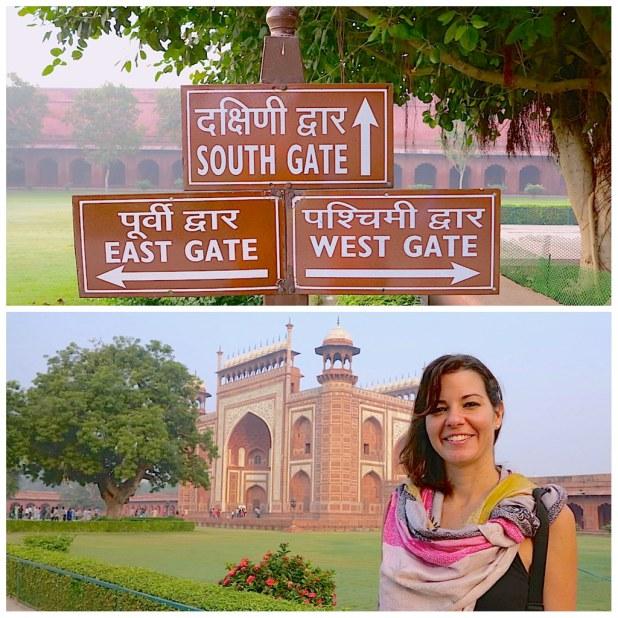 Entrada Taj Mahal