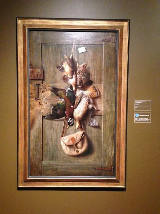 The Huntsman's Door by Richard LaBarre Goodwin, Hunter Museum of American Art, Chattanooga TN