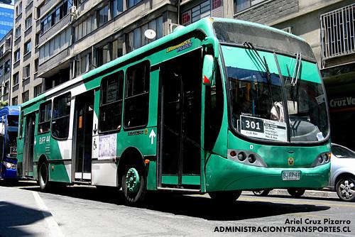 Transantiago - Buses Vule - Busscar Urbanuss Pluss / Mercedes Benz (BJFP44)