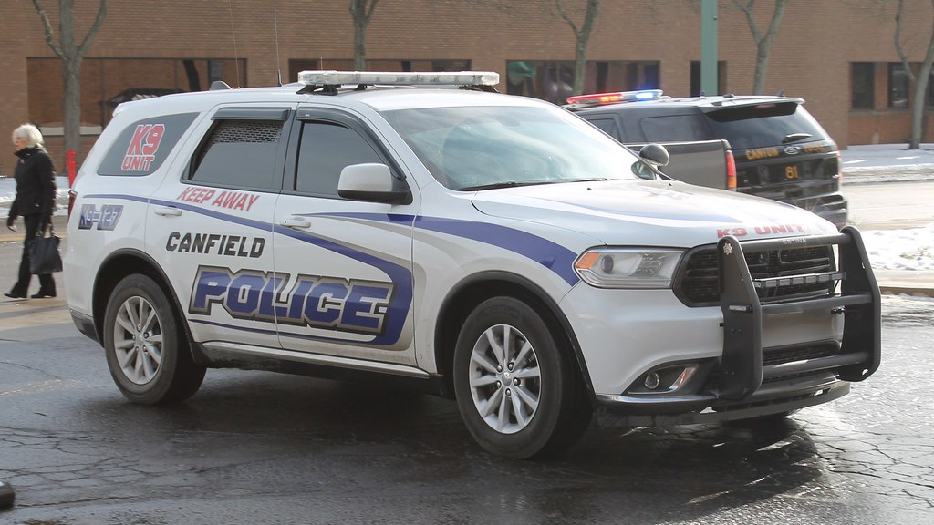 Canfield Ohio Police K 9 Dodge Durango Raymond Wambsgans