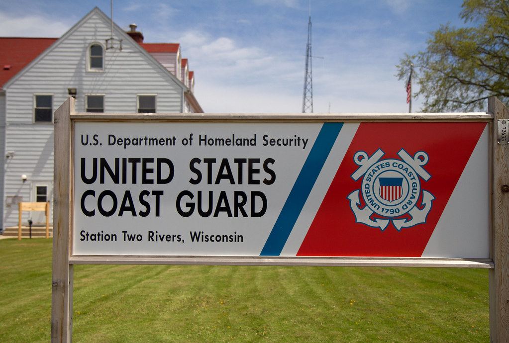 Homeland Security  US Coast Guard Station Two Rivers Wis  Lester Public Library  Flickr