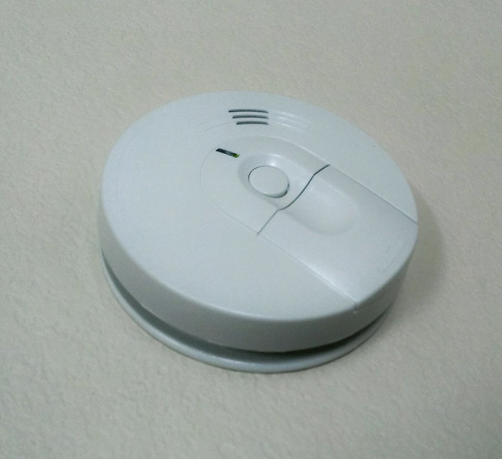 Smoke Detector  Smoke detector on the wall  Feel free to