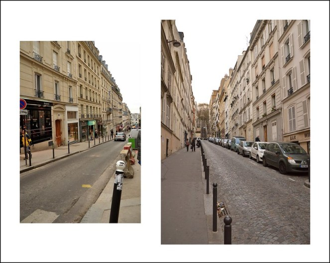 Paris streets, photography, cobblestones, architecture