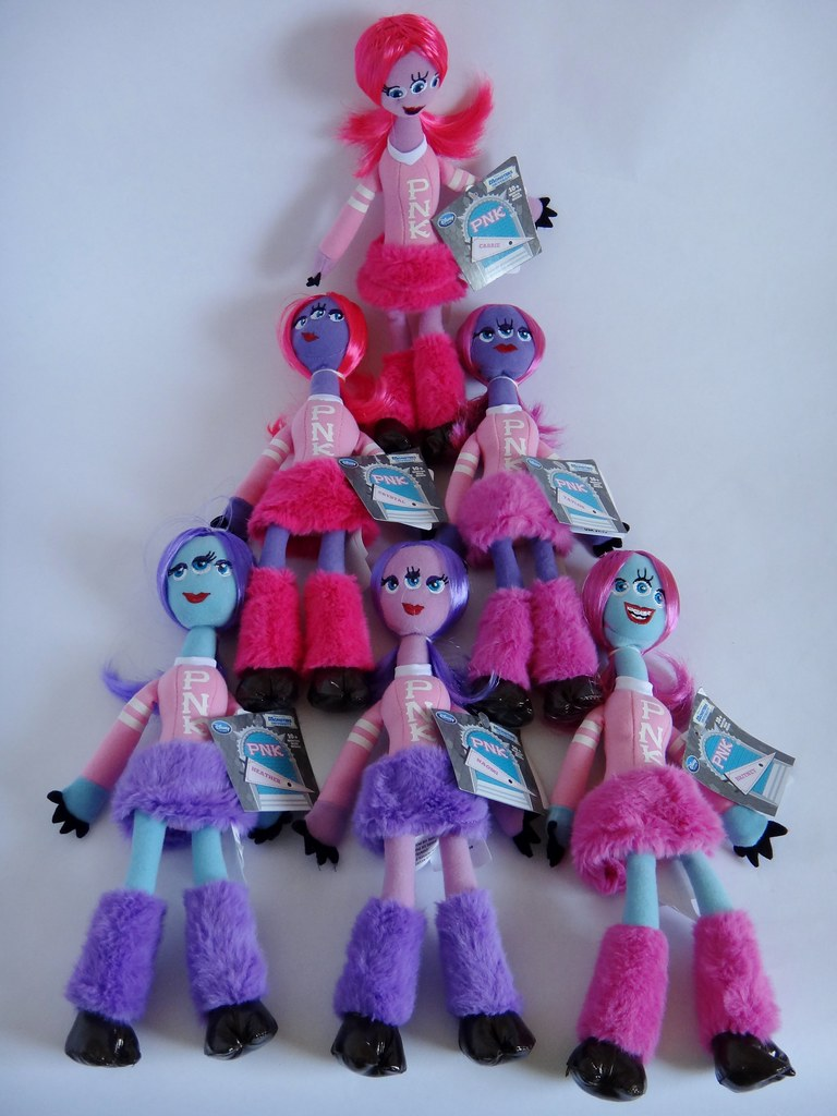 Monsters University PNK Plush  First Look  Pyramid of Pi