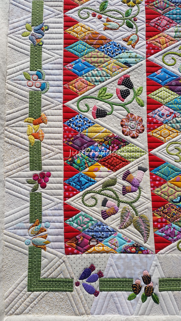 A3  Sweet Surrender by Sue Cody pieced by Beth and