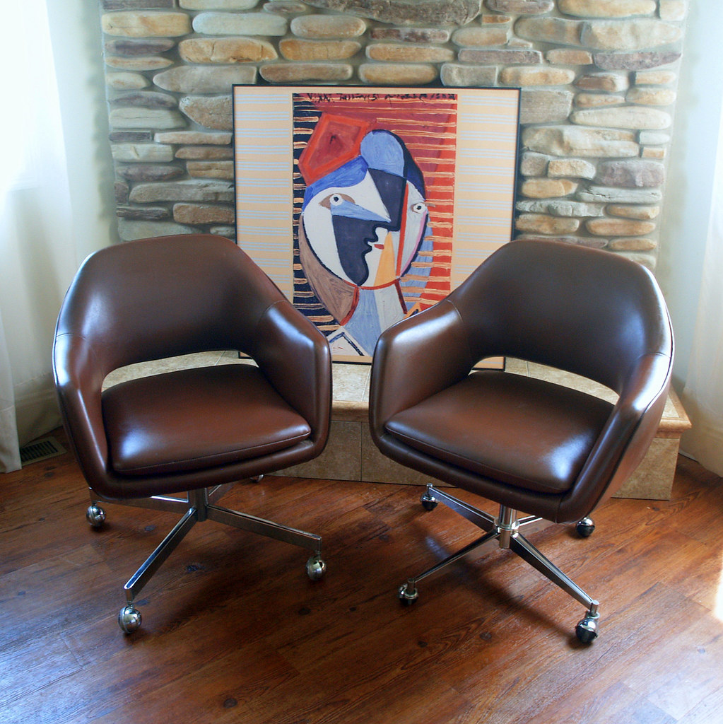 swivel chair vr reclining patio chairs with ottoman 1979 saarinen for knoll executive arm iconic mid cen… | flickr