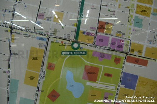Plano de Entorno - Quinta Normal (L5)