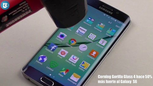 CORNING® GORILLA® GLASS 4 en Samsung Galaxy S6