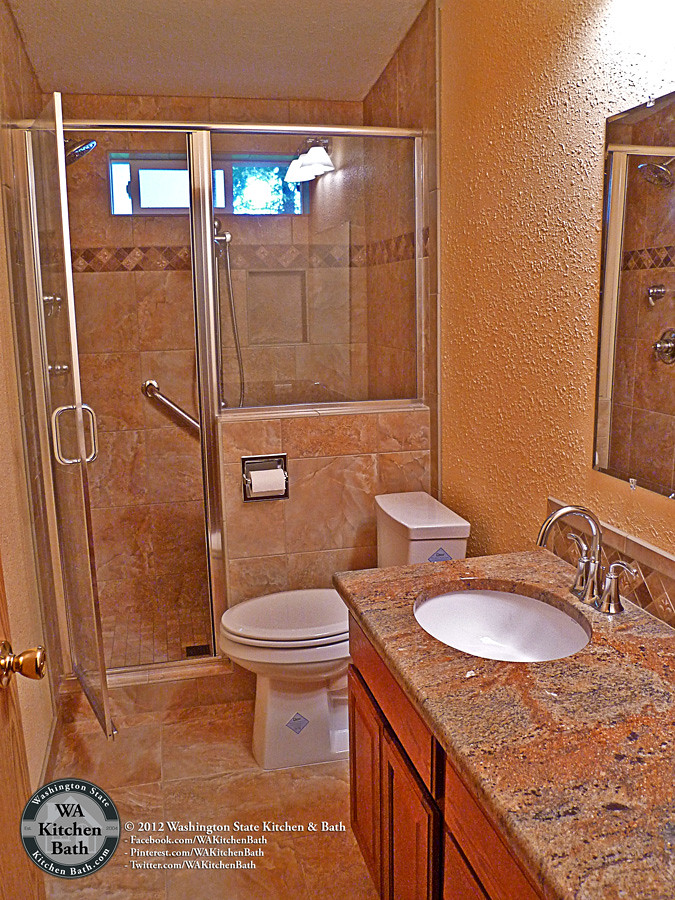 800 9355524 Mobile Home Hall Bathroom Remodel  800