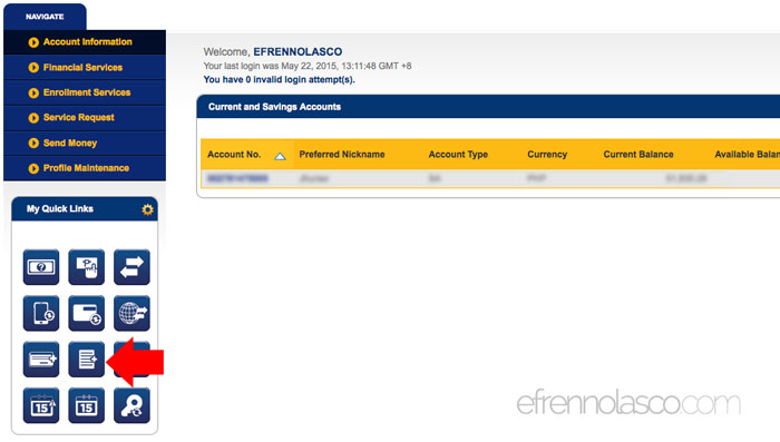How to Pay Meralco Bill Online step 1