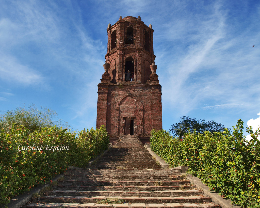 Bantay Bell Tower  The tower is made of red clay bricks bu  Flickr