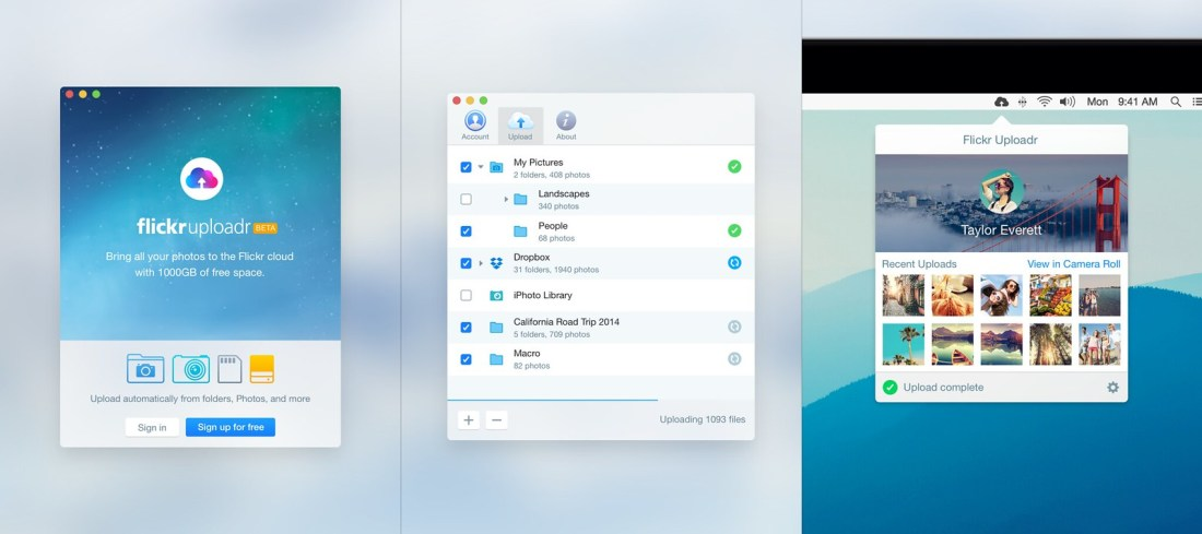 Uploadr for Mac