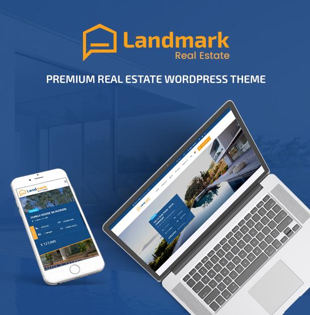 Landmark - Real Estate WordPress Theme