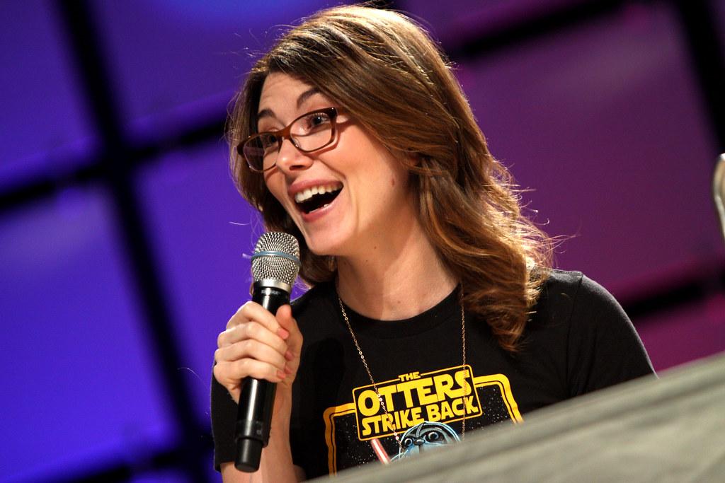 Jewel Staite  Jewel Staite speaking at the 2013 Phoenix Com  Flickr
