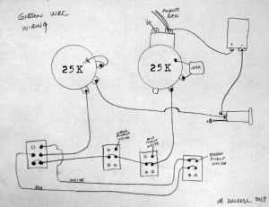 Gibson WRC Wiring Diagram | The WRC features a master