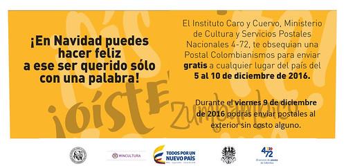Colombia rescatando tradiciones.