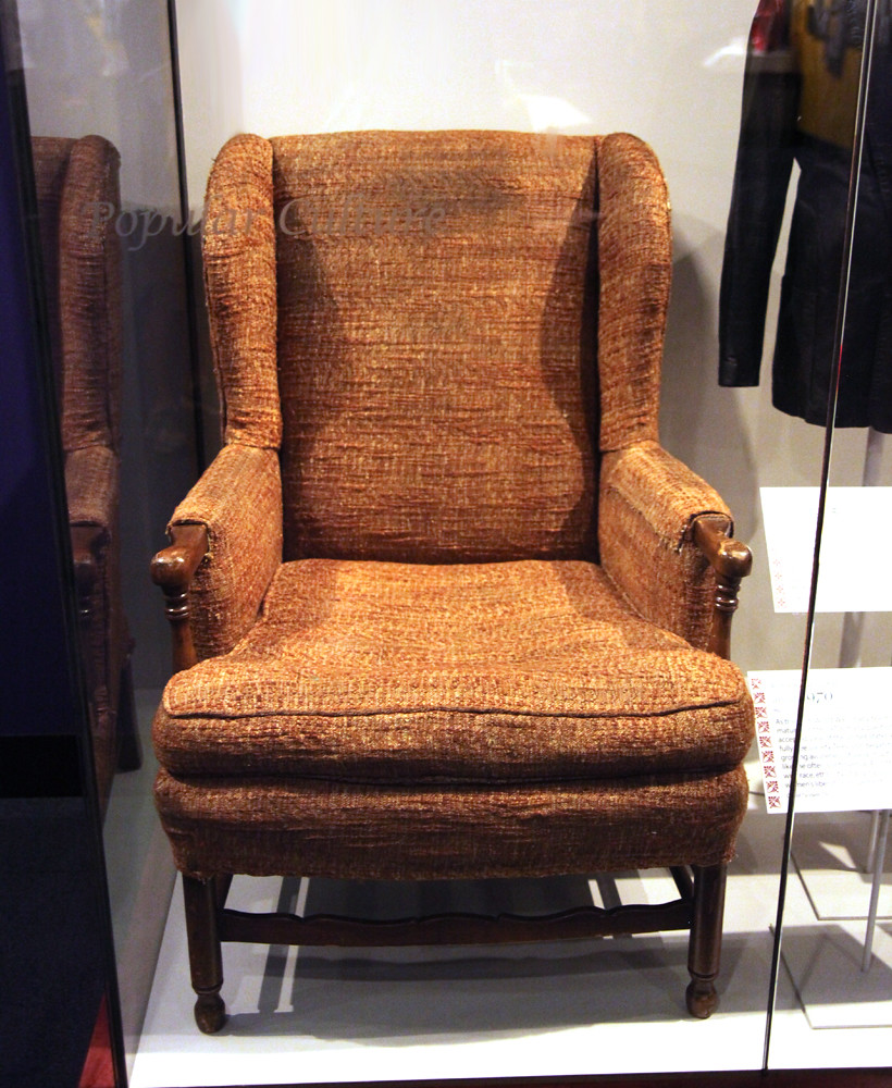 Archie Bunker chair  Smithsonian Museum of Natural Histor