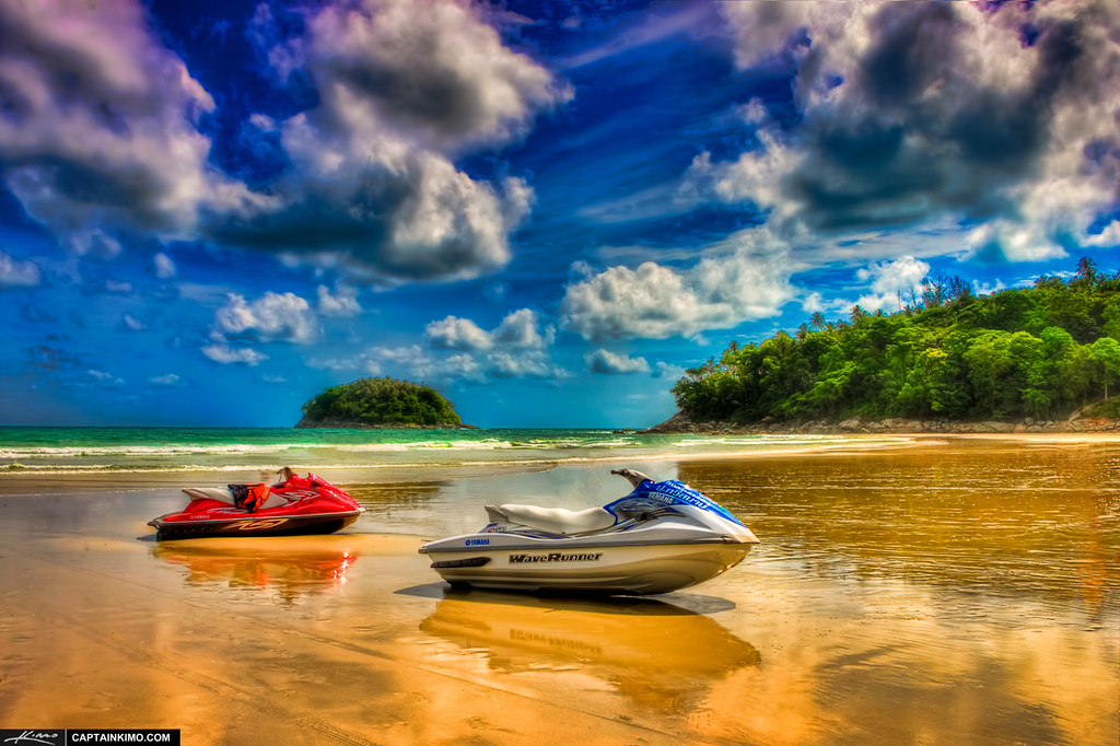 Facebook Wallpaper For Profile 3d Wave Runner Jet Ski At Kata Beach Phuket Thailand